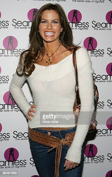 Winner of SurvivorGuatemala The Maya Empire Danni Boatwright arrives at the grand opening of the Seamless Adult Ultra Lounge early December 18 2005...