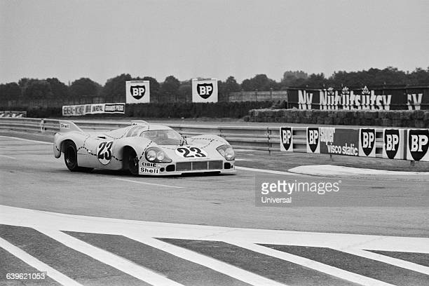 Winner of the 1970 24 Hours of Le Mans car race the Porsche 917K driven by Hans Herrmann and Richard Attwood