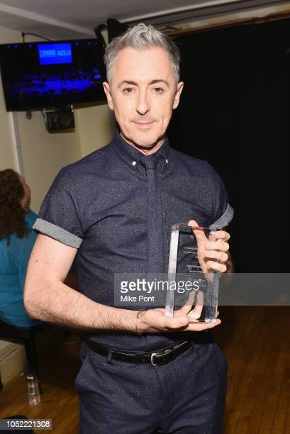 Winner of the 2018 Freedom Award Alan Cumming attends NYCLU's Broadway Stands Up For Freedom concert We The People on October 15 2018 in New York City