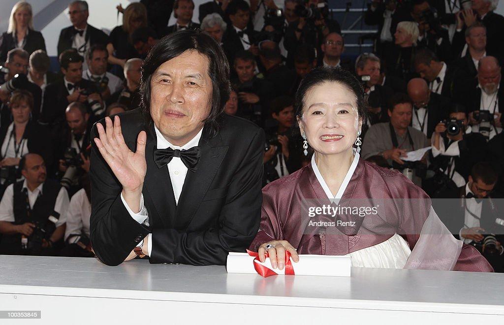 Palme d'Or Award - Photocall:63rd Cannes Film Festival
