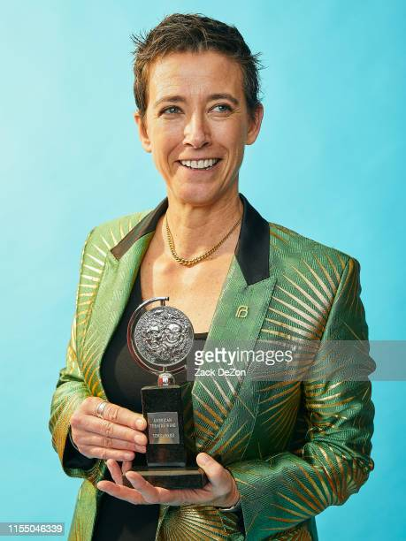 Winner of the award for Scenic Design for Hadestown Rachel Hauck poses for a portrait during the 73rd Annual Tony Awards on June 09 2019 in New York...