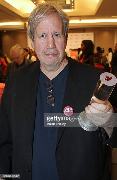 Winner of the Canada Goose Award for Best Canadian Feature Film for 'When Jews Were Funny', filmmaker Alan Zweig attends the 2013 Awards Brunch at...