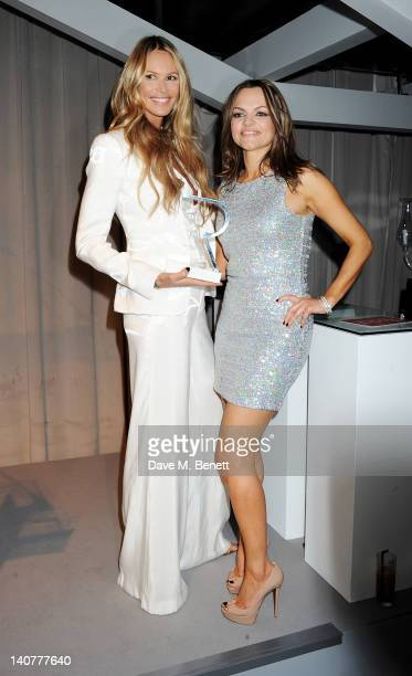 Winner of the Classic Glamour award Elle Macpherson and Rodial Founder Maria Hatzistefanis attend as skincare brand Rodial hosts the third annual...