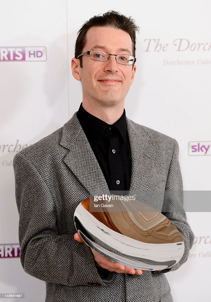 Winner of the classical music award, Llyr Williams, attends the South Bank Sky Arts Awards at Dorchester Hotel on May 1, 2012 in London, England.