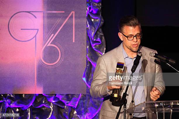 Winner of the Golden Trailer Award for Best Box Office Trailer SrVp Marketing at NBC Universal Scott Abraham on stage during the 16th annual Golden...