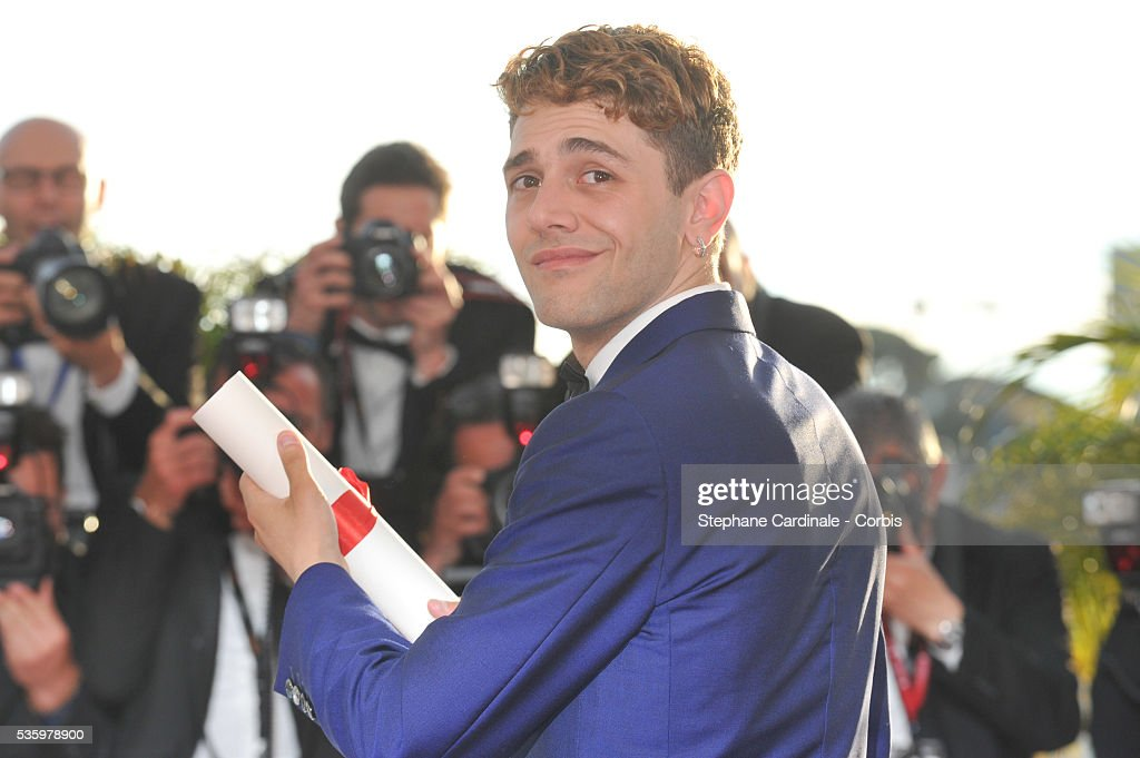 Winner of The Jury Prize, director Xavier Dolan for her film 'Mommy' at the Winners photocall during 67th Cannes Film Festival