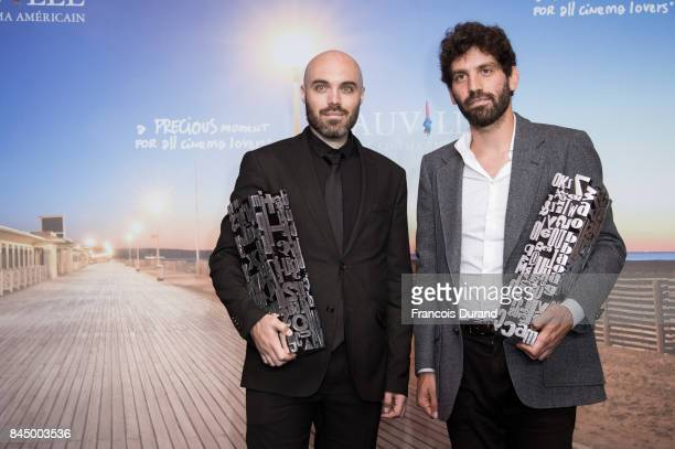 Winner of the Jury Prize the Revelation Prize and the Critic's Prize for his movie 'A Ghost Story' director David Lowery and the winner of the Jury...