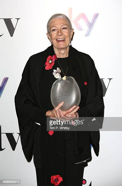Winner of The Lifetime Achievment Award Vanessa Redgrave attends the Sky Women In Film and TV Awards at London Hilton on December 5 2014 in London...