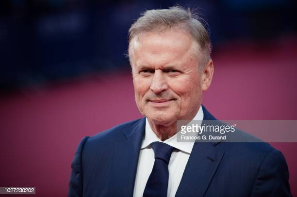 Winner of the Lucien Barriere Literary Prize John Grisham attends the Adrift A la Derive Premiere during the 44th Deauville American Film Festival on...