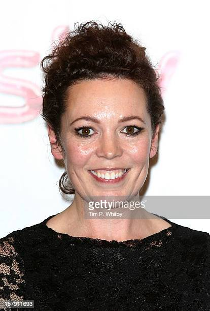 Winner of the MAC Best Performer Award Olivia Colman poses for a photograph in the press room at the Women in TV Film Awards at London Hilton on...