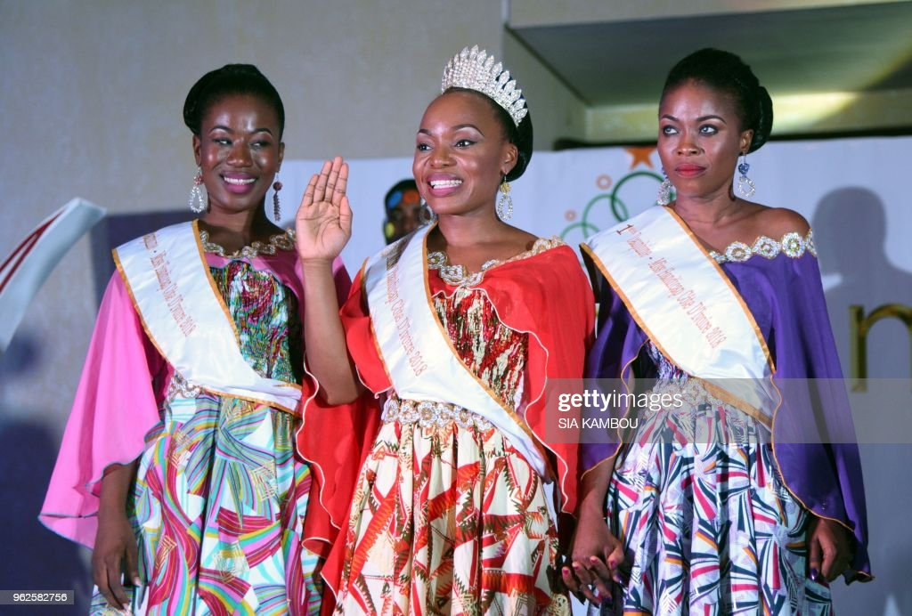 Winner of the Miss Handicap Ivory Coast 2018 beauty pageant for
