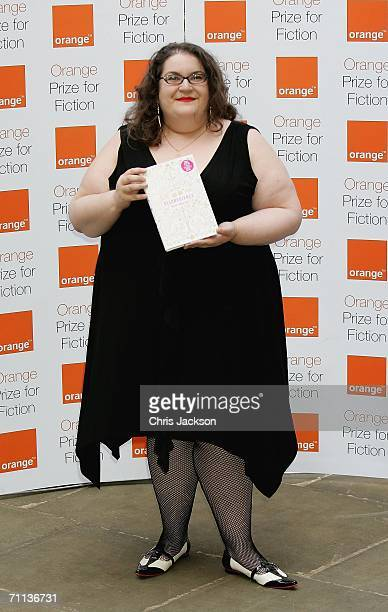 Winner of the New Writer Award Naomi Alderman poses after winning the award for her book Disobediencel at the Orange Prize For Fiction at Royal...