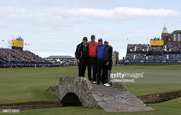 Winner of The Open in 1994 Zimbabwe's Nick Price winner of The Open in 1973 US golfer Tom Weiskopf winner of The Open in 1998 US golfer Mark O'Meara...