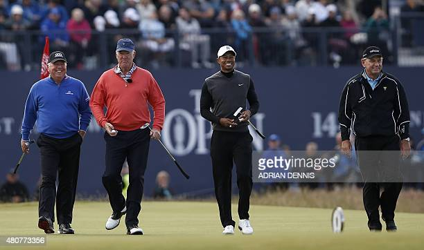 Winner of The Open in 1998 US golfer Mark O'Meara winner of The Open in 1973 US golfer Tom Weiskopf winner of The Open in 2000 2005 and 2006 US...