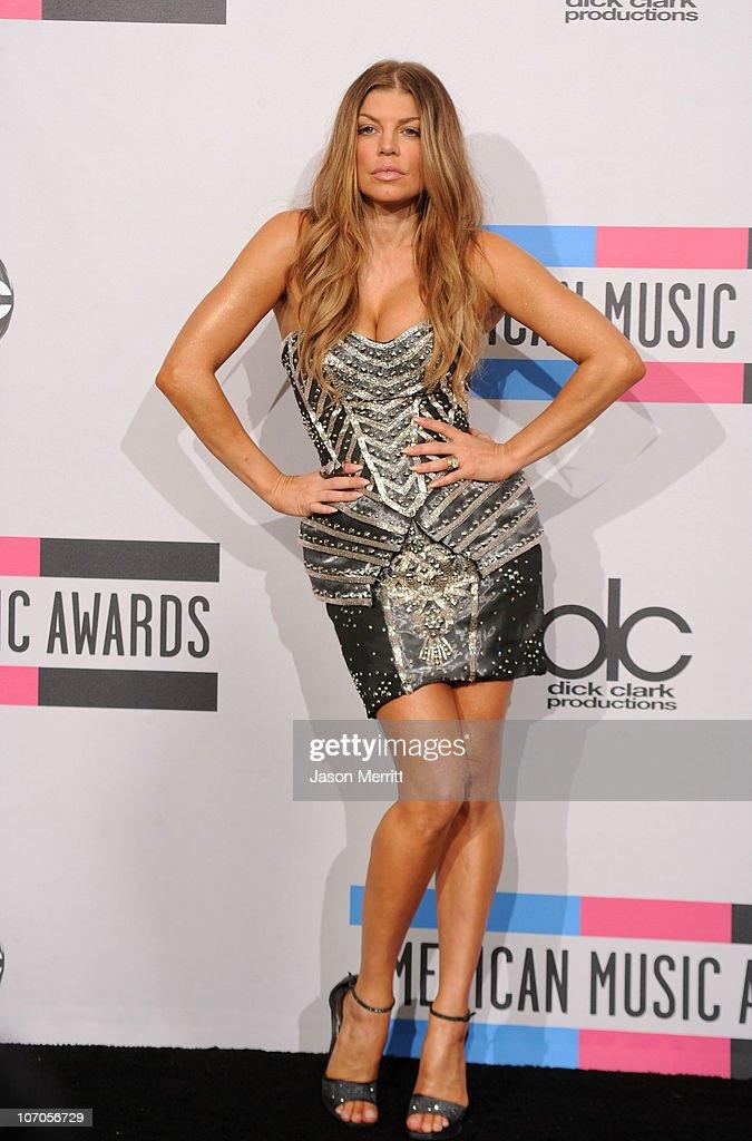 2010 American Music Awards - Press Room : News Photo