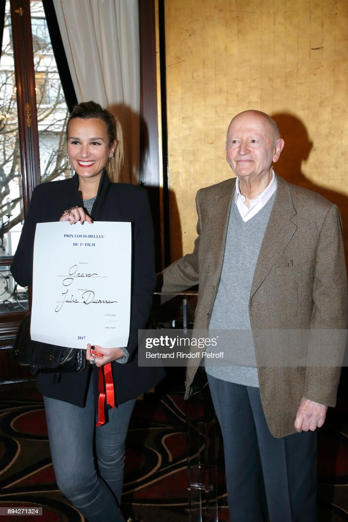 75th 'Prix Louis Delluc': Award Ceremony At the Fouquet's In Paris