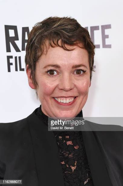 Winner of the Raindance 2019 Icon Award Olivia Colman attends the Raindance Film Festival's Special Soiree at The May Fair Hotel on August 20, 2019...