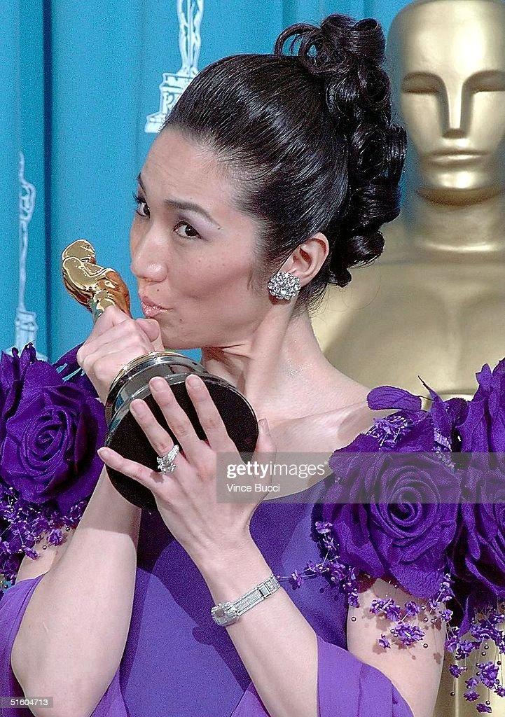 Winner of the Short Oscar Keiko Ibi of Japan kisse : Nachrichtenfoto