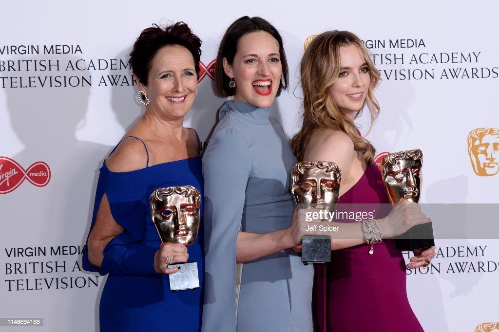 Virgin Media British Academy Television Awards 2019 - Press Room : News Photo
