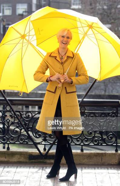 Winner of the Veuve Clicquot Business Woman of the Year Award Laura Tenison MBE, the founder and Managing Director of JoJo Maman Bebe, in London.