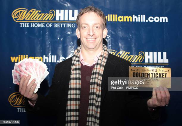 Winner of the William Hill 500 Golden Ticket