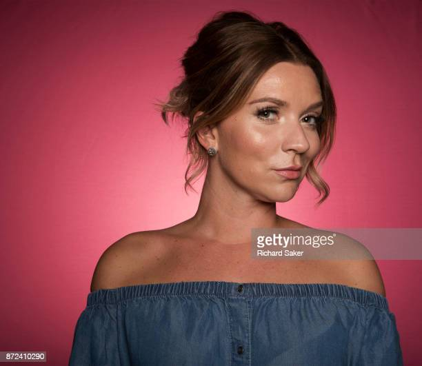 Winner of UK's Great British Bake Off in 2016 Candice Brown is photographed for the Observer on July 6 2017 in London England
