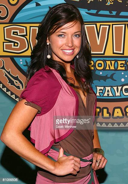Winner Parvati Shallow attends the Survivor Micronesia Finale and Reunion Show at the Ed Sullivan Theater on May 11 2008 in New York City