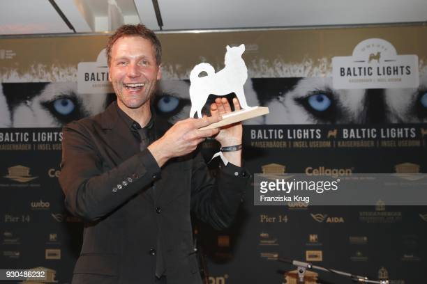 Winner Patrik Fichte during the 'Baltic Lights' charity event on March 10 2018 in Heringsdorf Germany The annual event hosted by German actor Till...