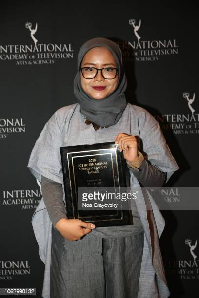 Winner Puti Puar attends the Young Creatives Awards Ceremony on November 16 2018 in New York City