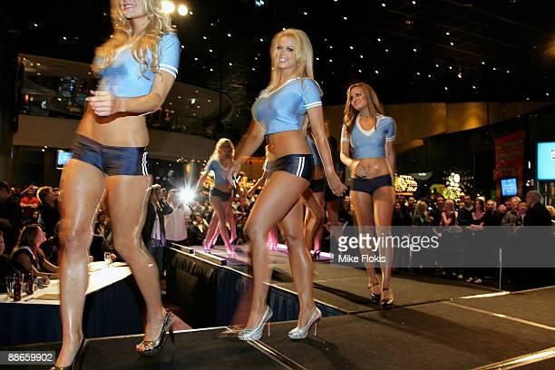 Winner Rachel Burr poses during the 'Face of Origin' competition at Star City on June 24, 2009 in Sydney, Australia.