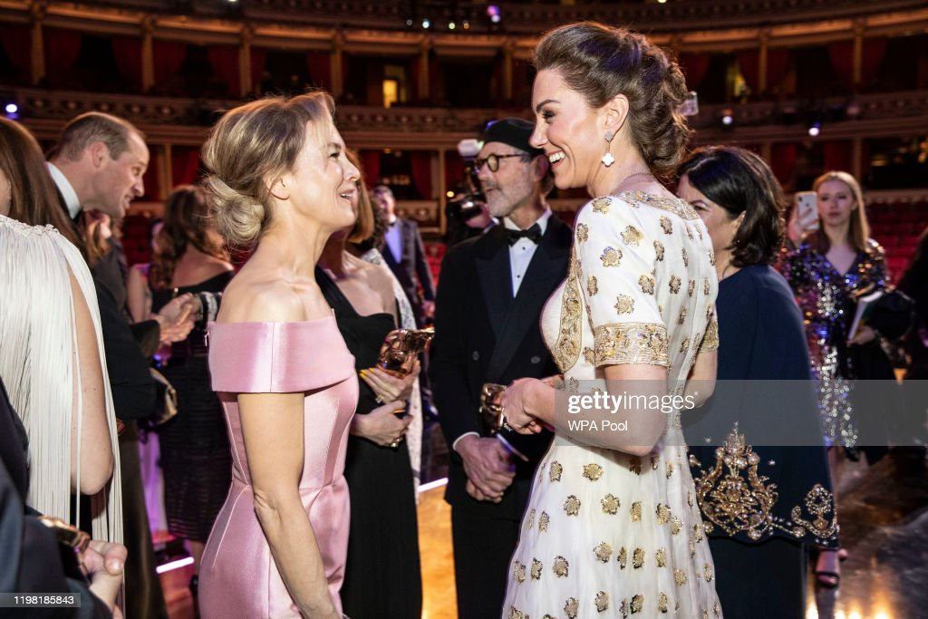 The Duke And Duchess Of Cambridge Attend The EE British Academy Film Awards : ニュース写真
