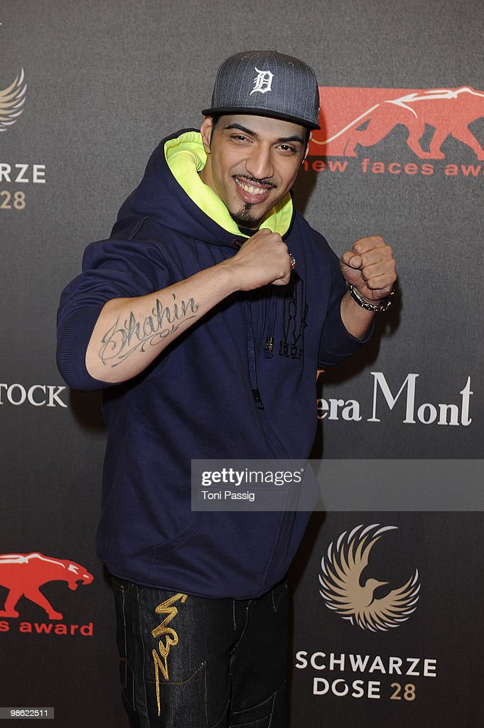 DSDS winner, singer Mehrzad Marashi attends the 'New Faces Award 2010' at Cafe Moskau on April 22, 2010 in Berlin, Germany.