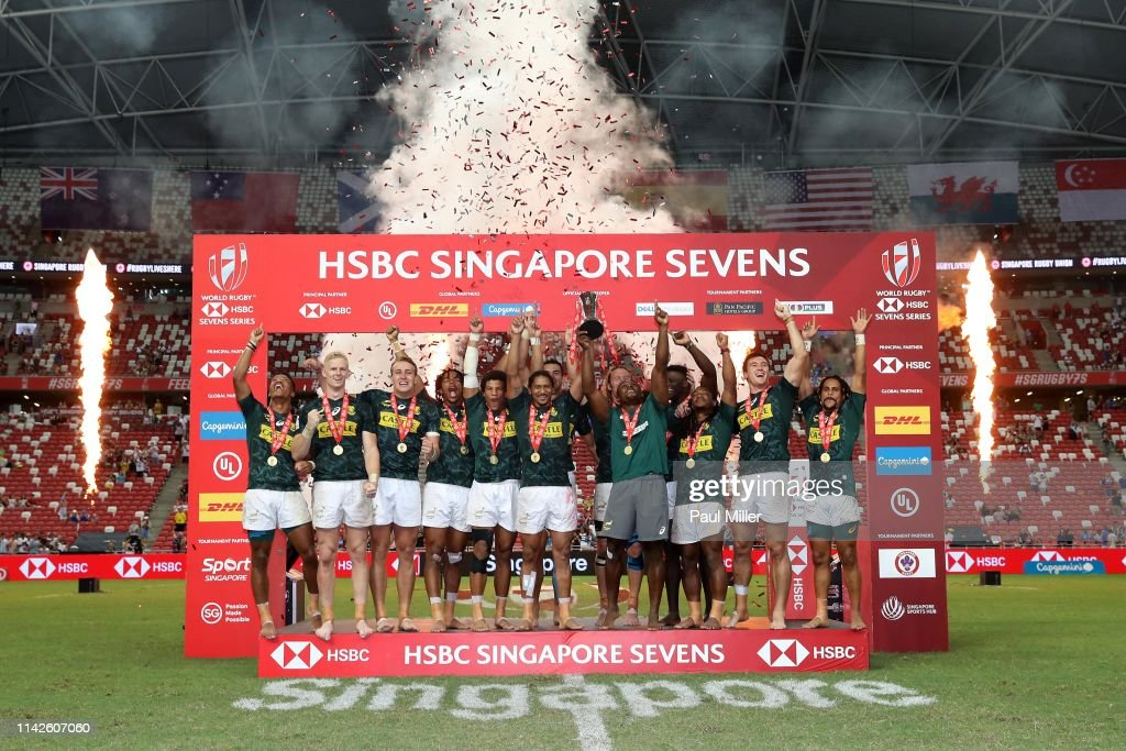 HSBC Rugby Sevens Singapore - Day 2 : News Photo