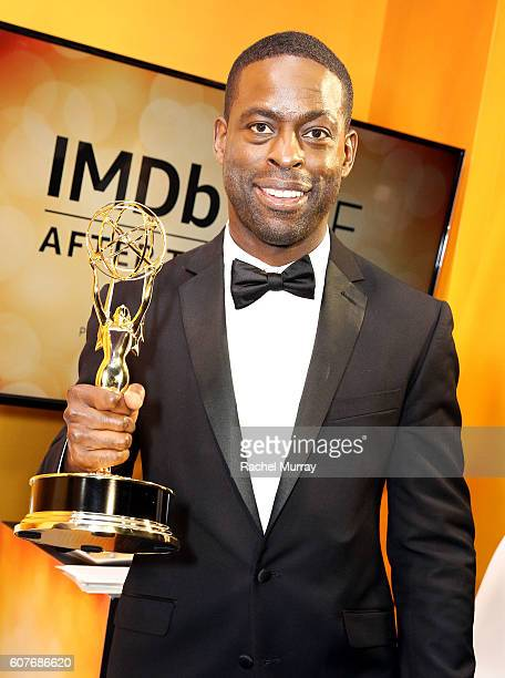 Winner Sterling K Brown attends IMDb Live After The Emmys presented by TCL on September 18 2016 in Los Angeles California