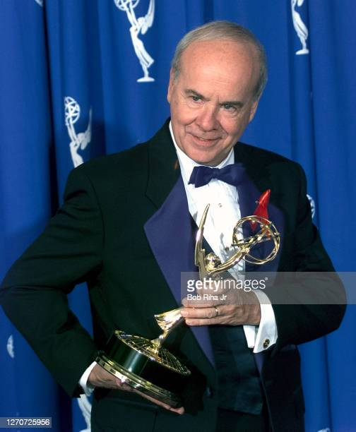 Winner Tim Conway at Emmy Awards Show, September 8, 1996 in Pasadena, California.
