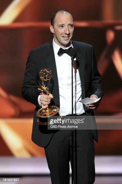 Winner Tony Hale during the 65th Primetime Emmy Awards which will be broadcast live across the country 8001100 PM ET/ 500800 PM PT from NOKIA Theater...
