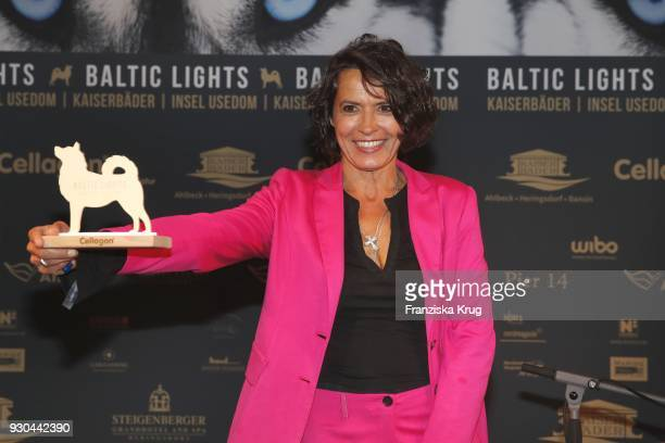 Winner Ulrike Folkerts during the 'Baltic Lights' charity event on March 10 2018 in Heringsdorf Germany The annual event hosted by German actor Till...
