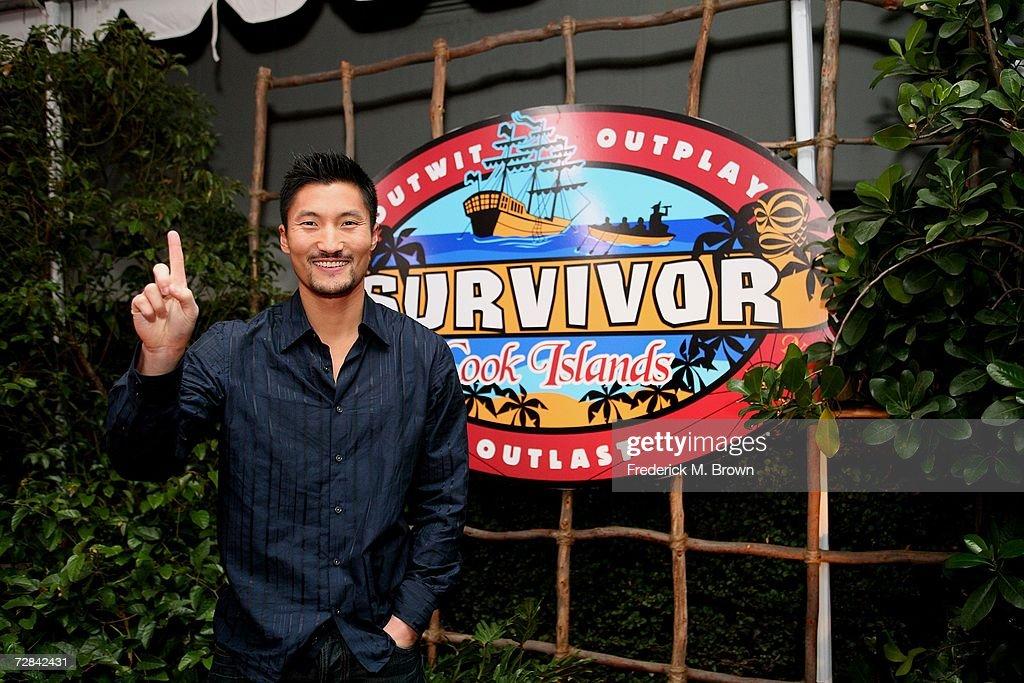 """Survivor: Cook Islands"" Finale : News Photo"