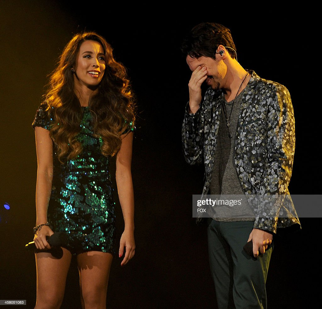 Winners Alex & Sierra perform onstage on FOX's 'The X Factor' Season 3 Live Finale on December 19, 2013 in Hollywood, California.