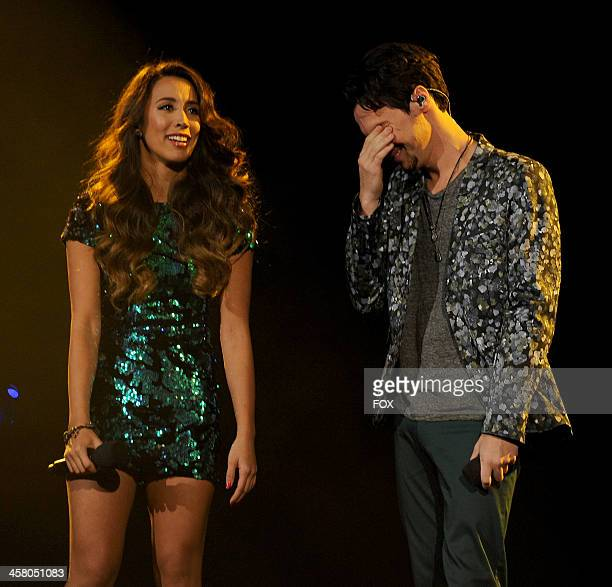 Winners Alex Sierra perform onstage on FOX's 'The X Factor' Season 3 Live Finale on December 19 2013 in Hollywood California