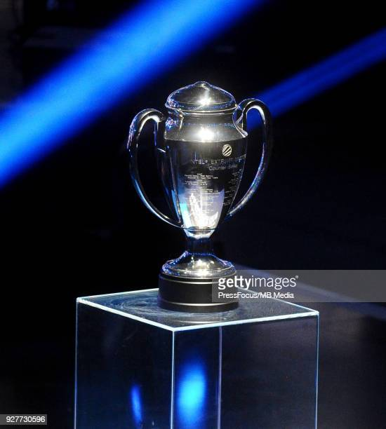 Winners' cup during CounterStrike Global Offensive final game between FaZe Clan and Fnatic on March 4 2018 in Katowice Poland