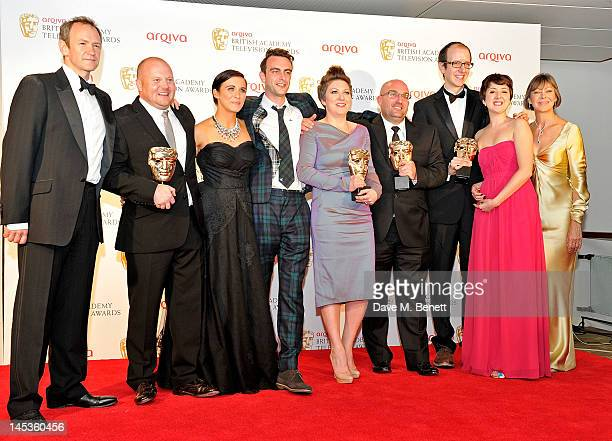 Winners for Best Mini Series for 'This Is England '88' Mark Herbert Vicky McClure Joseph Gilgun Rebekah WrayRogers Shane Meadows Jack Thorne and...