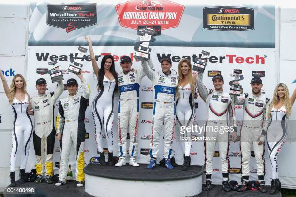 GTLM winners include the Ford Chip Ganassi Racing Ford GT driven by Ryan Briscoe and Richard Westbrook the Corvette Racing Corvette C7R driven by...
