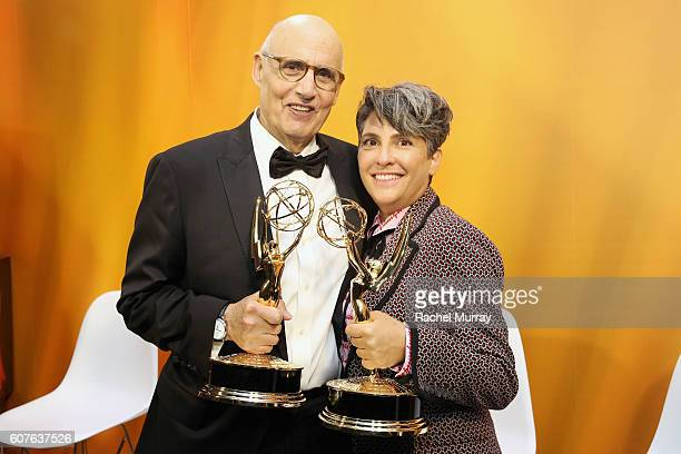 Winners Jeffrey Tambor and Jill Soloway attend IMDb Live After The Emmys presented by TCL on September 18 2016 in Los Angeles California