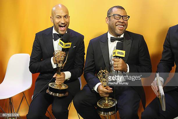 Winners Keegan-Michael Key and Jordan Peele attend IMDb Live After The Emmys, presented by TCL on September 18, 2016 in Los Angeles, California.