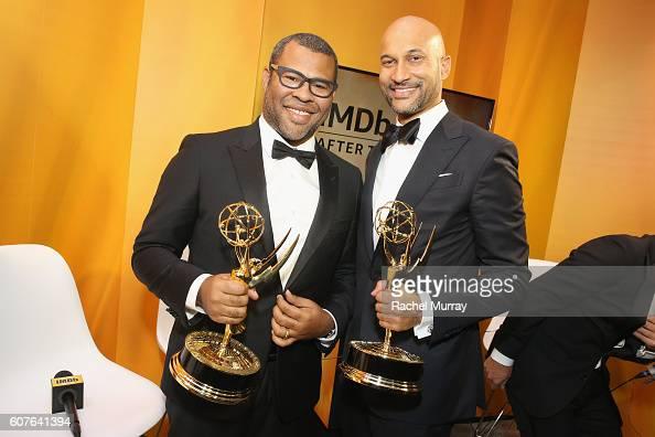 Winners Keegan-Michael Key and Jordan Peele attend IMDb Live After
