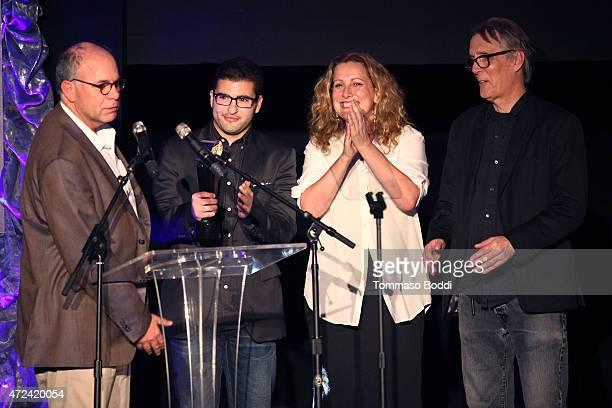 Winners of Best Animation/Family Trailer creative director Destiny Esposito editor Matt Fierstein executive vice president of marketing at Walt...