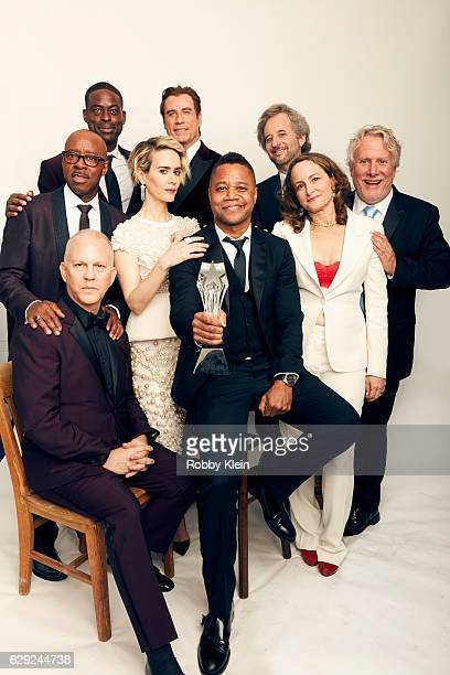 Winners of Best Movie Made for Television or Limited Series for 'The People v OJ Simpson' Sterling K Brown John Travolta Scott Alexander Larry...