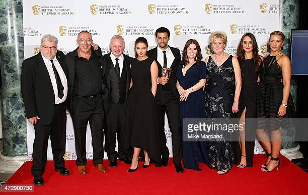 Winners of Best Soap and Continuing Drama Coronation Street cast and crew Robbie Sandison Stuart Blackburn Les Dennis Brooke Vincent Dean Fagan...