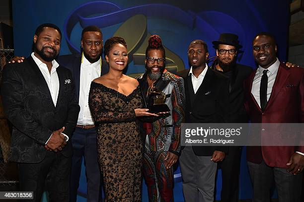 Winners of Best Traditional RB Performance MalcolmJamal Warner Robert Glasper Riley Glasper Lalah Hathaway Casey Benjamin Mark Colenburg guest and...